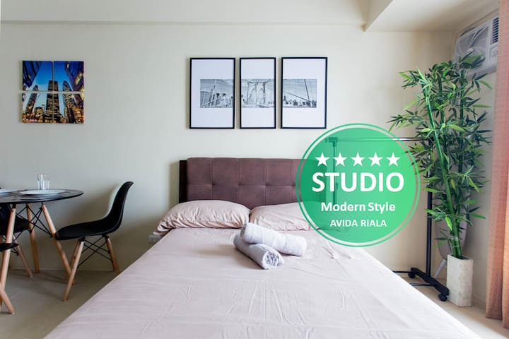 I ❤️ Modern STUDIO @ AVIDA RIALA ❤️ IT PARK 12Fl.