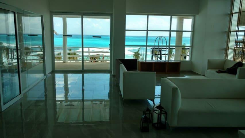 Bonito departamento en Zona hotelera de Cancún - Cancún - Apartemen