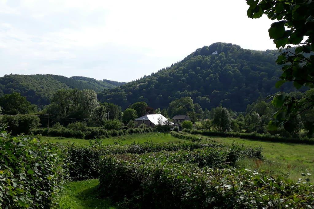 B&B with a view on chapel Saint Thibaut
