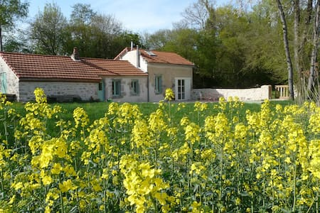 Charming Cottage 10 min from Dijon, swimming-pool - Saint-Julien - Hus