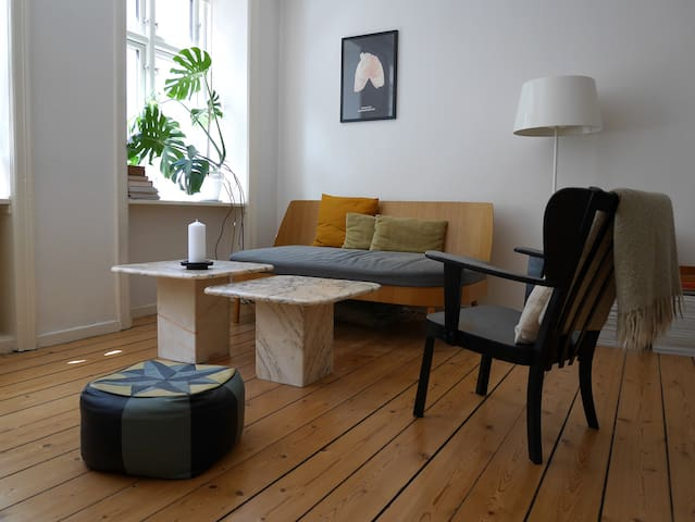 Spacious apartment in the heart of Vesterbro