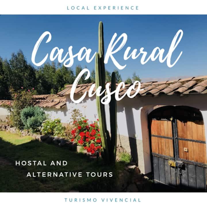 Casa completa Cusco- FAMILIAS (garaje y jardín)