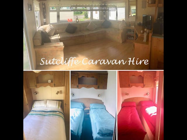 HOME FROM HOME 8 BERTH CARAVAN