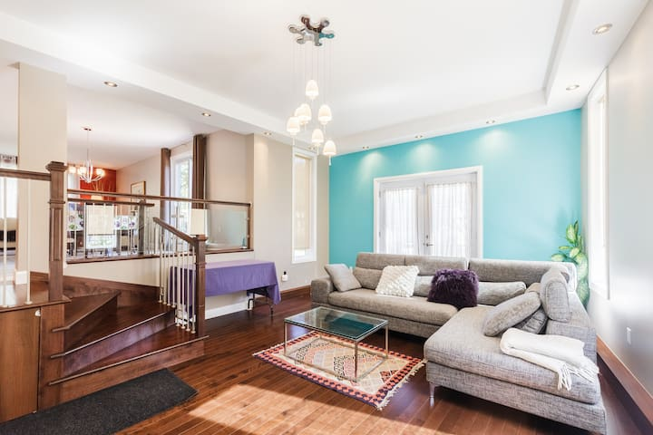 Maison familiale tout équipée à Québec - Ville de Québec - Bungaló