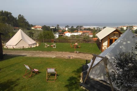 Glamping Tent 4 & Safari Tent - Nature on Beach