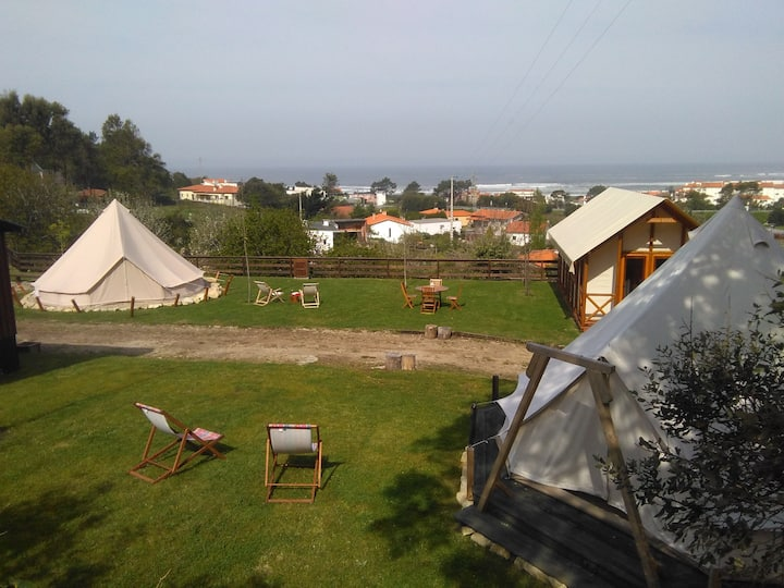 Glamping Tent 4 & Safari Tent - Nature on Beach