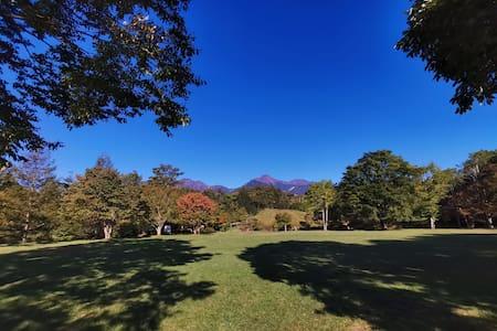 清里高原の秋、星空と空気を楽しむ。