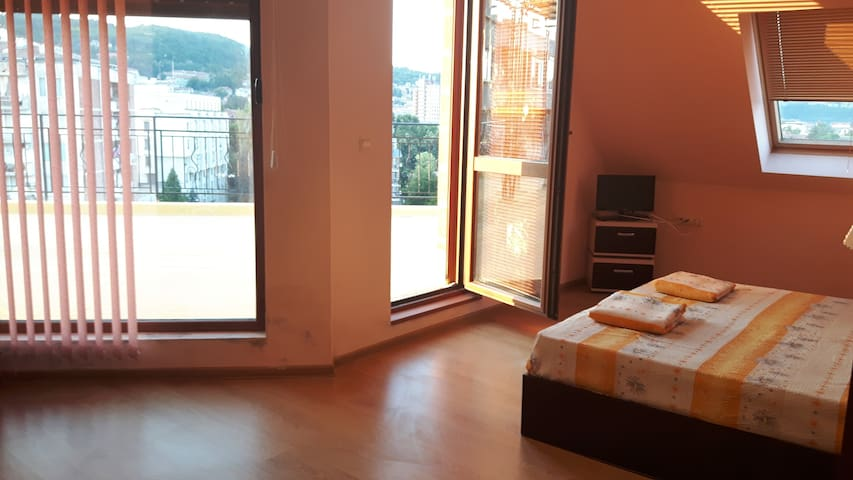 Pretty Room with amazing terrace and Great view! - Veliko Tarnovo - Pis