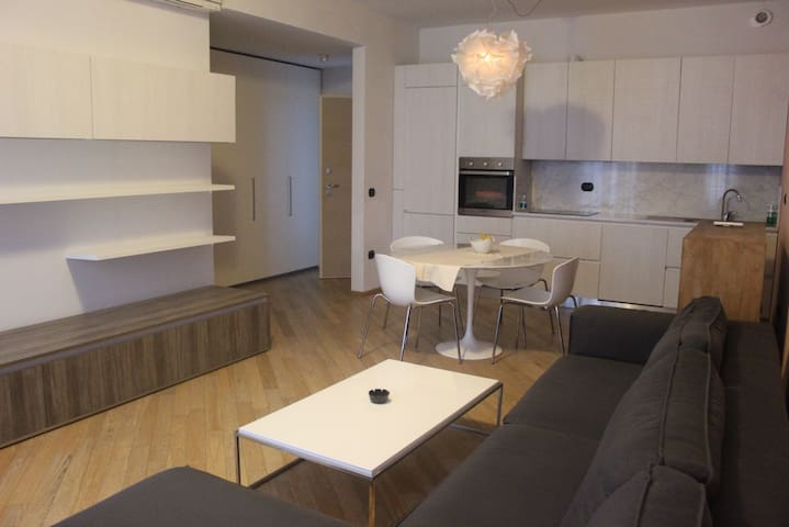 Open space, Kitchen and Living room