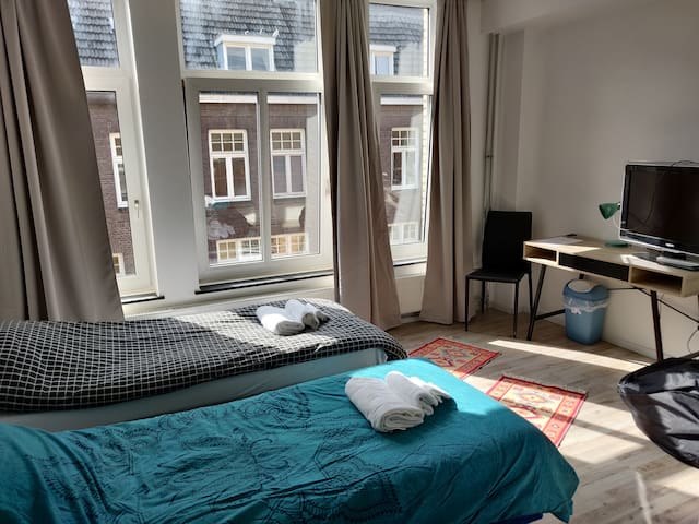 Two person studio appartement City Center Roermond