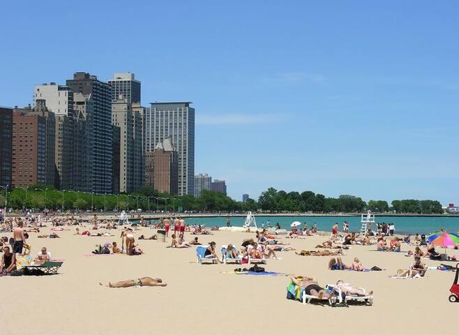 Chicago beach !