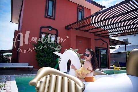 Aladdin beach house