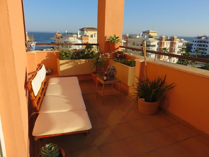 Beach-Apartment Torrox-Costa with WiFi and parking