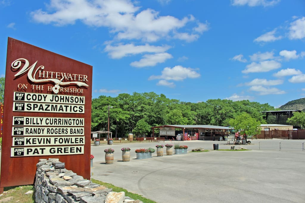 Whitewater Amphitheater, One- Fourth Mile from Home