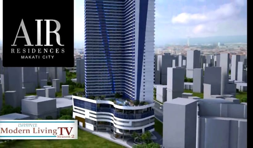 Air Residence 1-bedroom condo unit in Makati City
