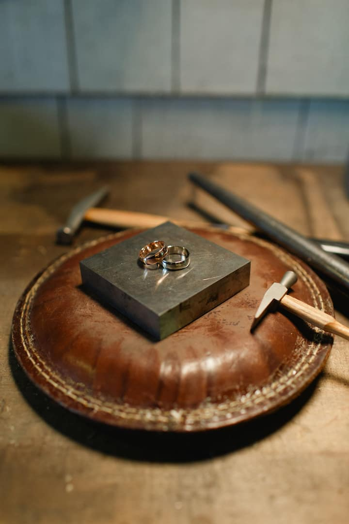 The finished rings!