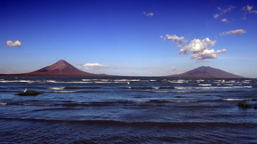 Amazing view of Ometepe Island - La Virgen - Maison