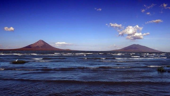 Amazing view of Ometepe Island