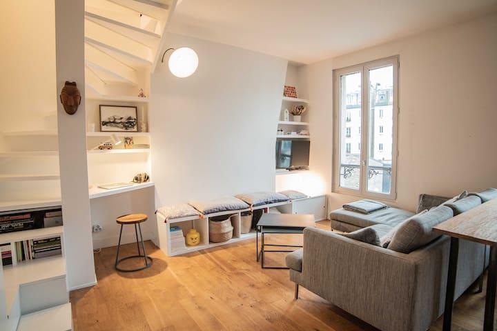 Beautiful apartment in a dynamic neighborhood