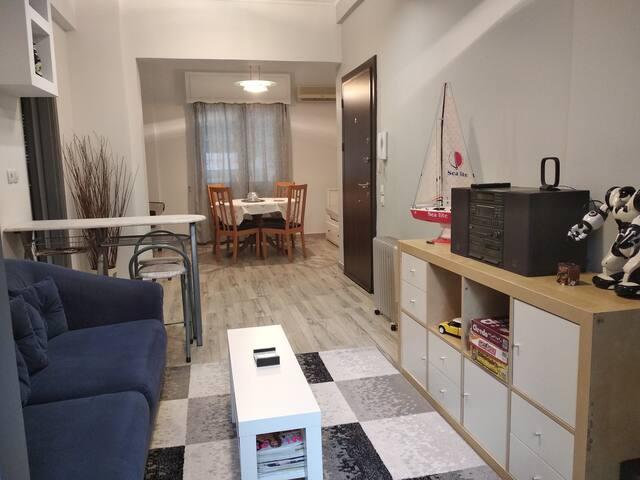 Sonia's cozy apartment in Kallithea-Athens