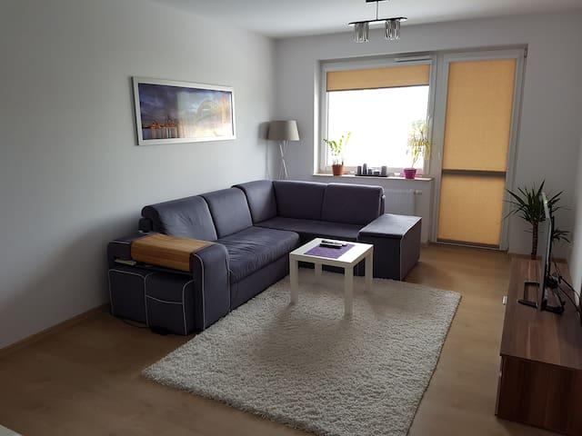 Piękny i duży pokój - ulica Palacza - Poznań - Apartamento