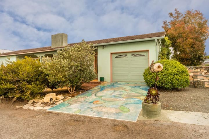 Unique Artist's Home in Morro Bay with ocean view.