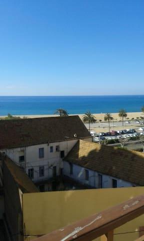 Habitación frente a la playa!!! - Arenys de Mar - Apartment