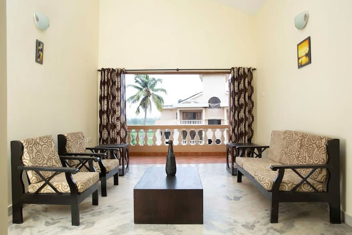 Laxmi's Apartment - Coconut Grove Residence Goa