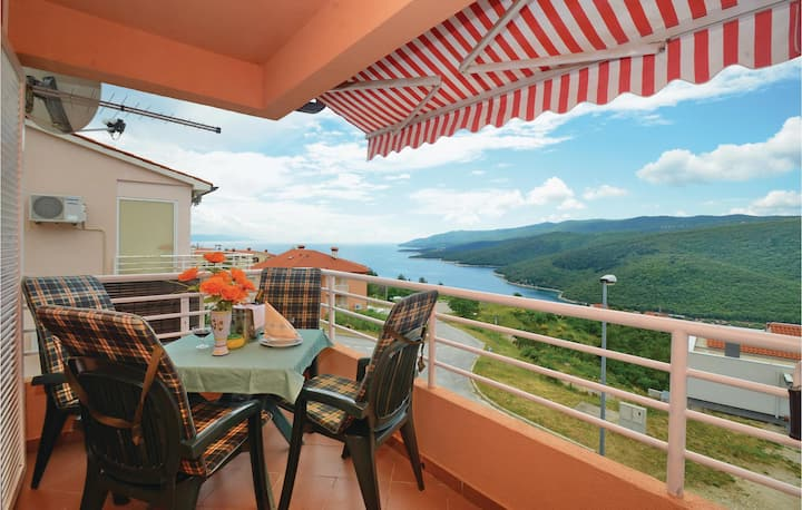 Awesome home in Rabac with WiFi and 1 Bedrooms