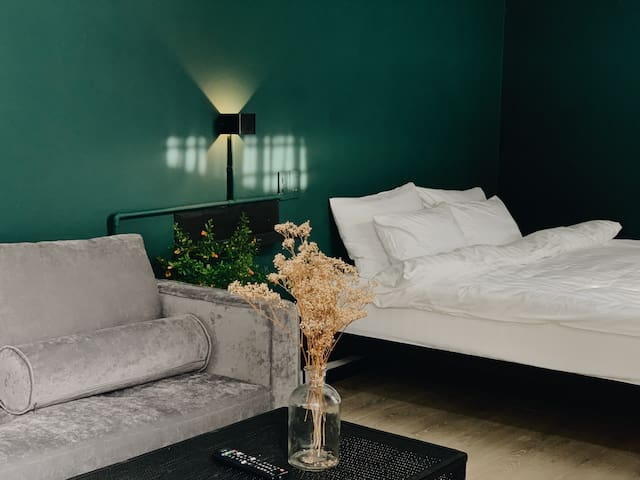 THE TEAL STUDIO-The Modern room IN CENTER OF DALAT