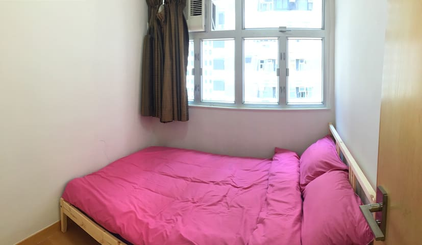 Comfortable Double Room in a Spacious Apartment - Hong Kong - Daire