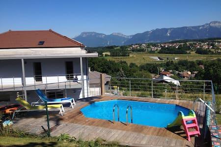 Maison passive entre lac d'Annecy et montagne - Allonzier-la-Caille