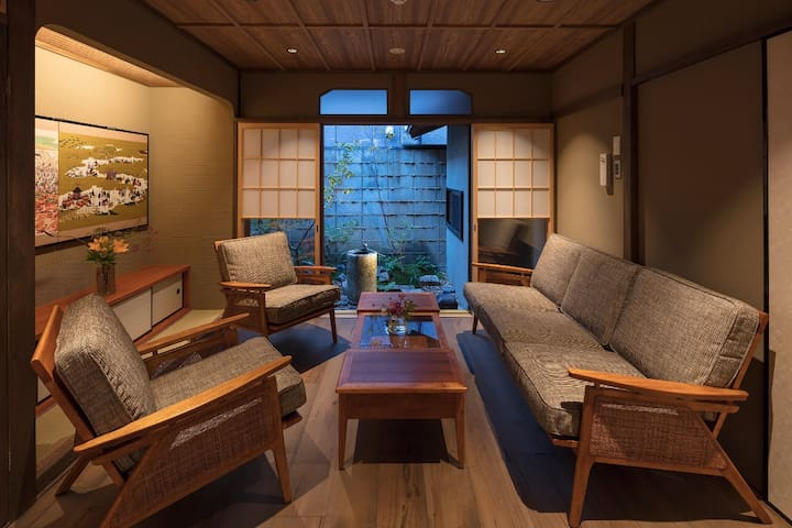 Spacious Traditional House, 2 Full Bathroom xWiFi - Higashiyama Ward, Kyoto - House