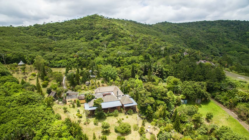 Nature awaits you @ NidJO Lodge - Tamarin - Villa