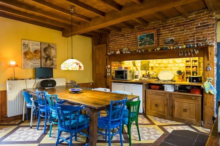 Maison Bohémienne [12 pers.] - Montcavrel - Вилла