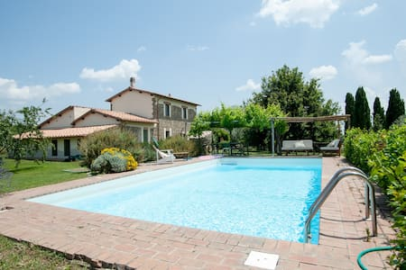 Le Pietre Country Home with pool - Viterbe - Villa