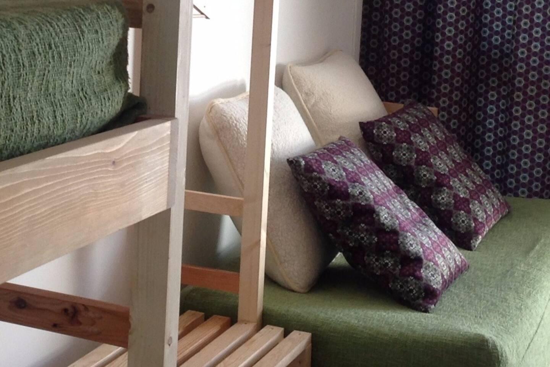 Studio NEUF - Esprit nordique - Bois contemporain et textiles chaleureux pour un séjour bien être à 4.