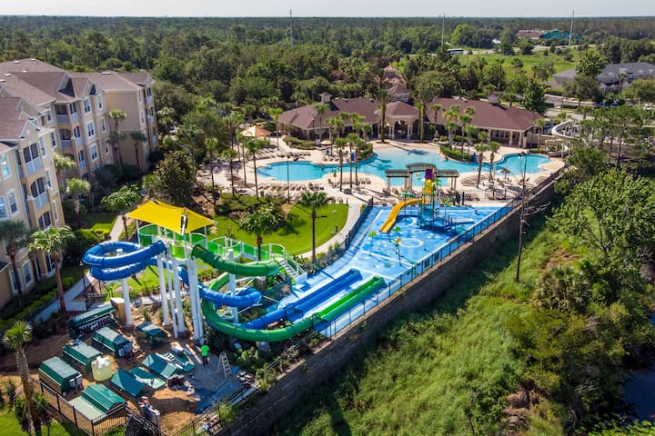 The brand new RESORT WATER PARK is NOW OPEN! Windsor Hills features the most relaxing, spacious and fun splash/water slide area and pool for kids of all ages and adults.
