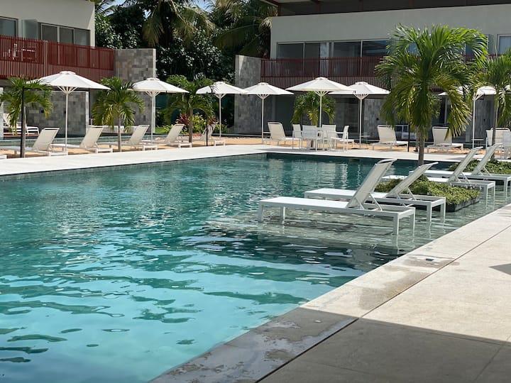 Resort na principal da praia de Pipa