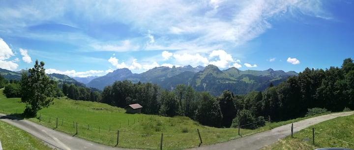 Herrliches Panorama im Herzen der Schweiz