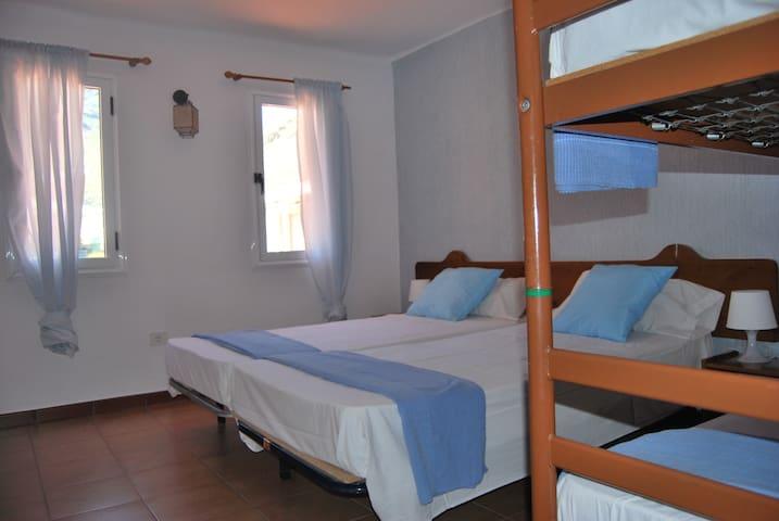 Habitación 3 cuadrúpeda privada Aldea
