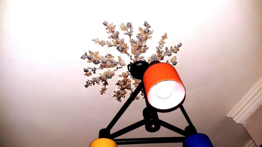 * Chic modern chandelier  * 3D Sculpture Roses art
