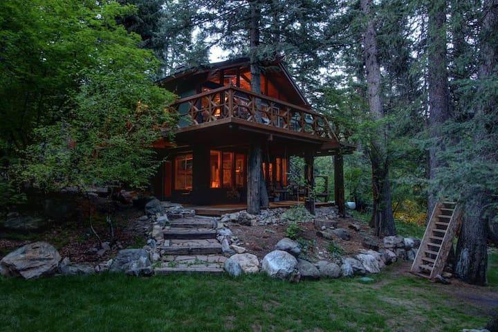 Treehouse on The Stream • Sundance, Utah