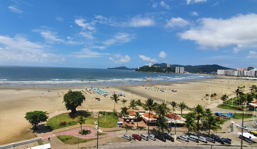 Santos frente ao mar