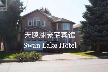 *天鹅湖豪宅宾馆 一层三号房间 68加元/晚/间/4人 - 多伦多