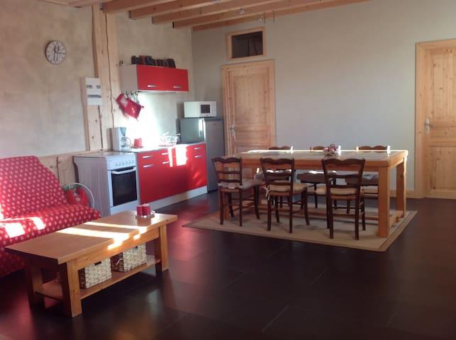 Charmant logement. - Longchaumois - Casa