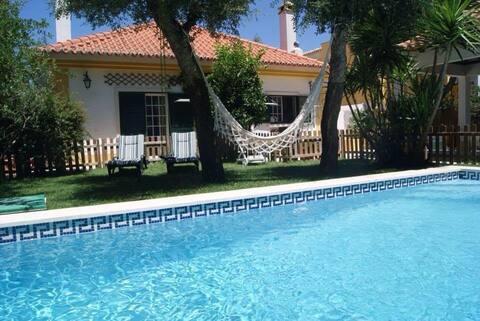 Double Room in a Gay Villa, Garden & Pool