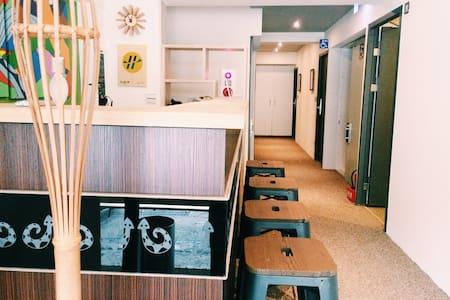 10. 男女混合宿舍 - MIX Dorm(6人房型) - 信義區 - Dormitório
