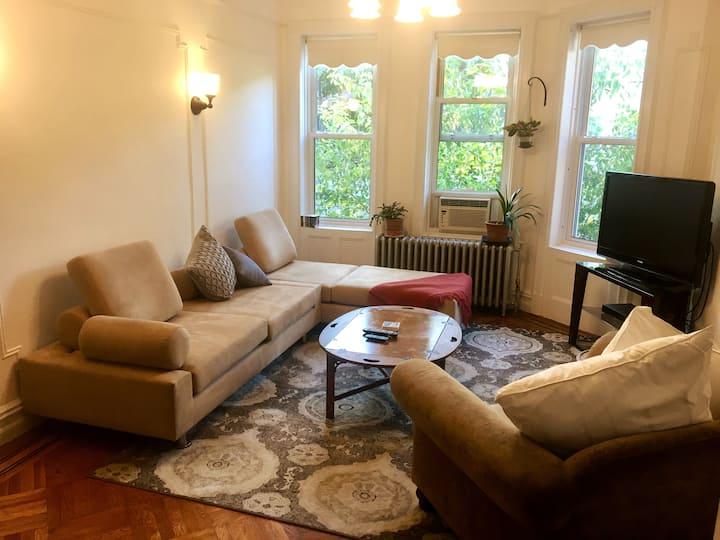 Sunny apartment in Prospect Lefferts Gardens