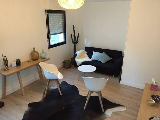 Studio cocooning pour se ressourcer - Plougastel-Daoulas - Apartemen